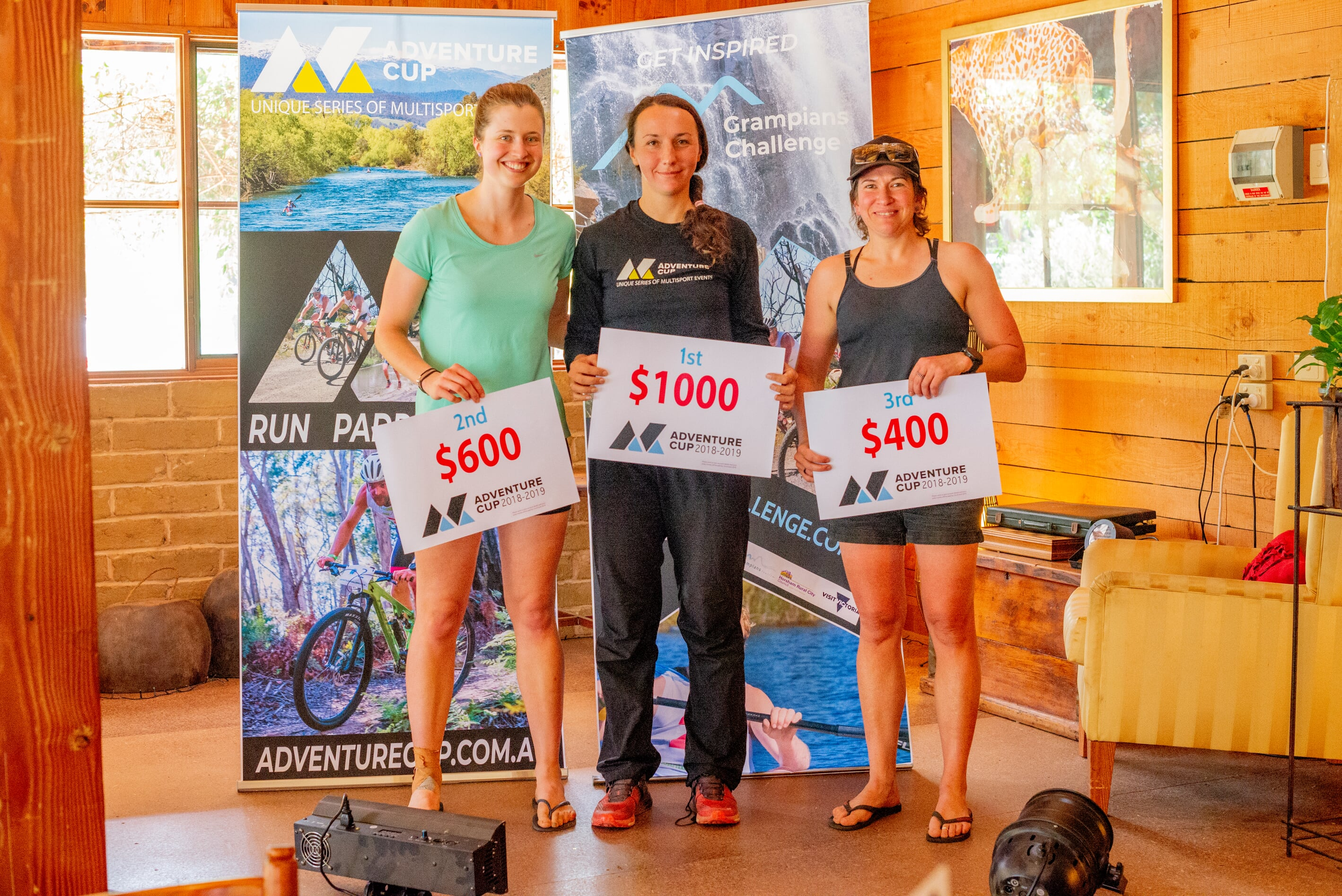 adventure cup female winners at grampians challenge