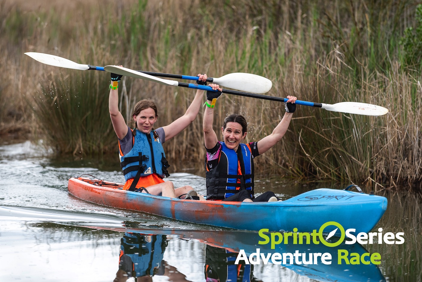 sprint series adventure race kayaking