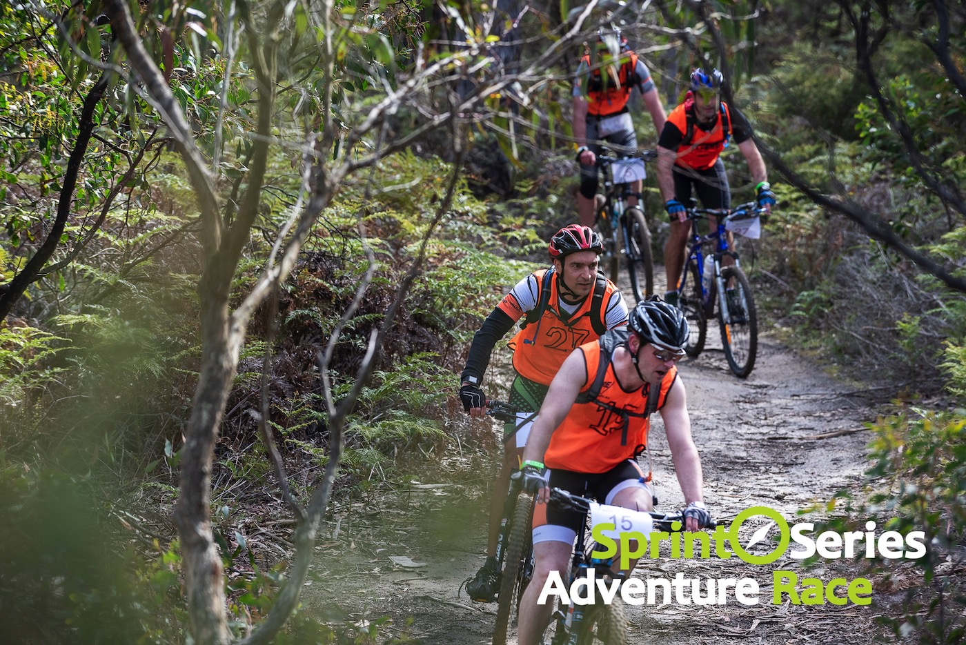 sprint series adventure race mountain bike