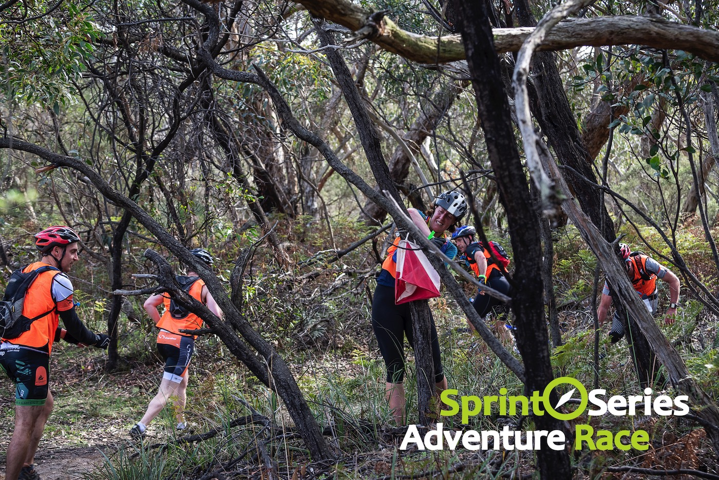 sprint series adventure race search for checkpoint
